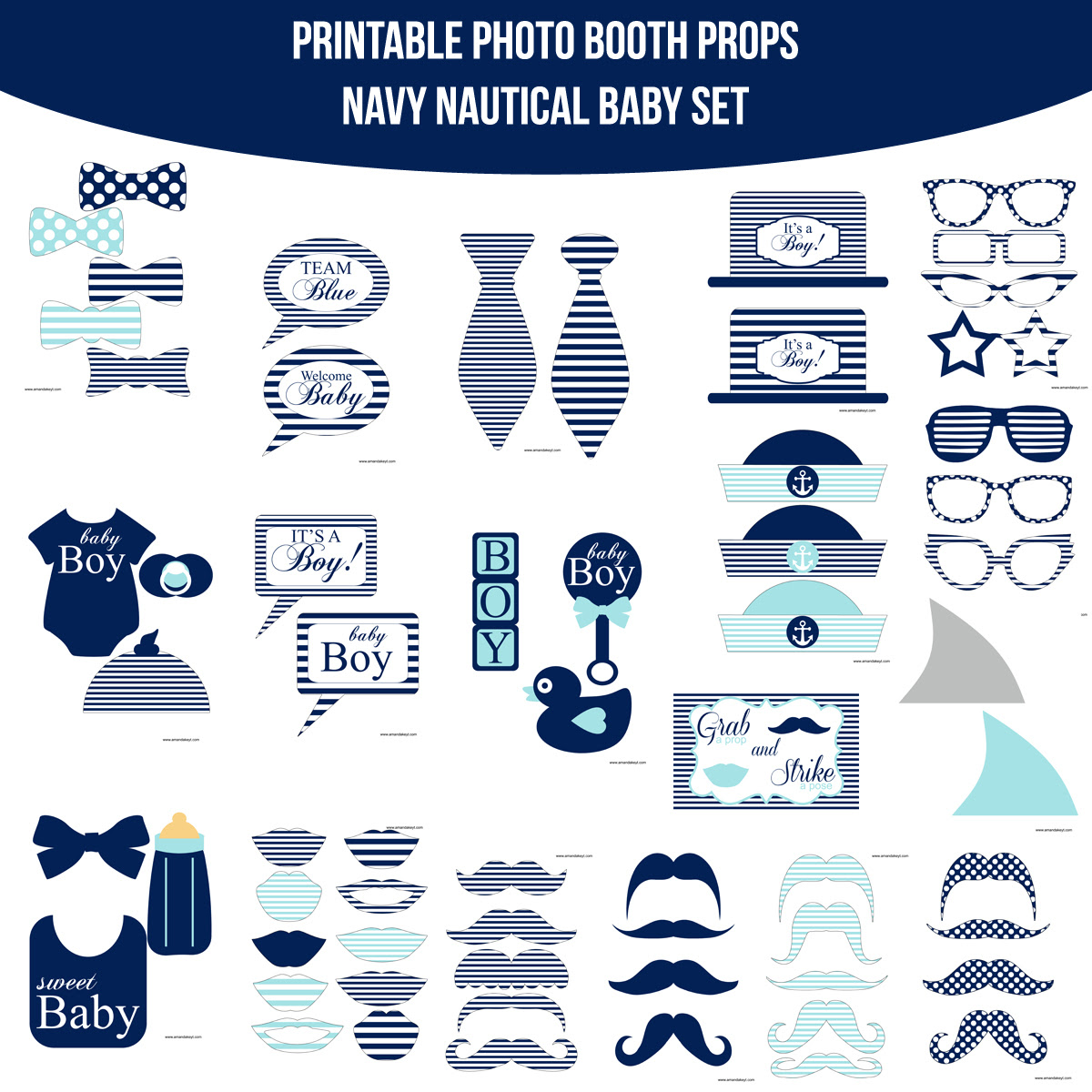 New Nautical Props For Photo Booth