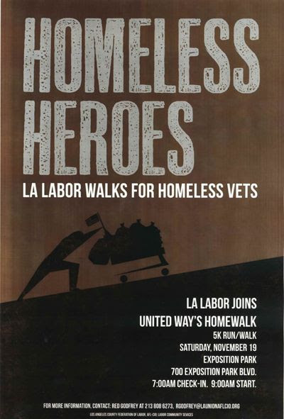 LA Labor Walk for Homeless Vets