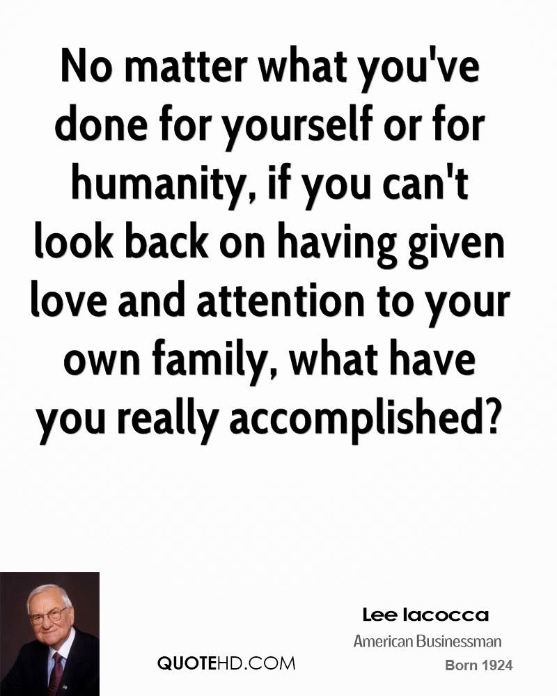 Lee Iacocca Love Quotes Quotehd