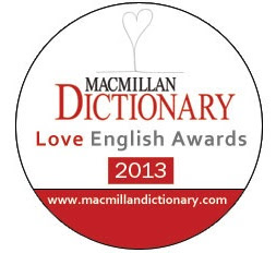 Macmillan Dictionary Love English Awards 2013
