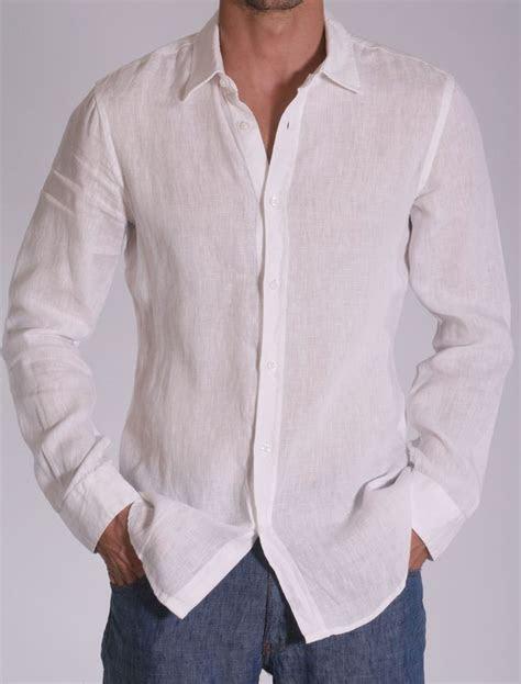 white linen shirts for men for weddings   White Linen