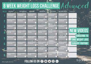week quick weight loss workout plan