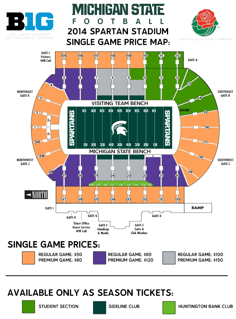 Tickets Spartan Fund