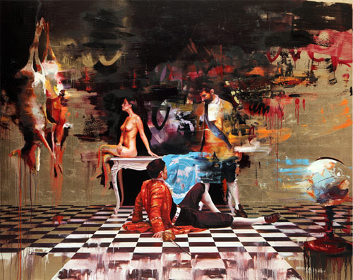 Artist painter Conor Harrington