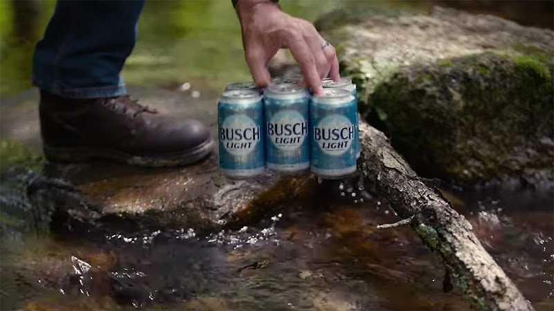 Busch beer's pop-up shop is so exclusive, it's hiding in the middle of a forest