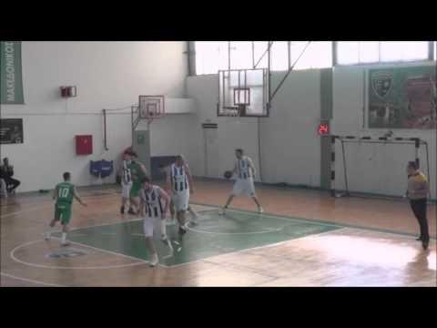 Στιγμιότυπα από τον αγώνα Μακεδονικός-Αριστοτέλης Φλώρινας για την Γ΄ Εθνική Ανδρών