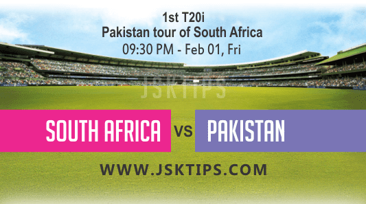 South Africa vs Pakistan 1st T20I Betting Tips