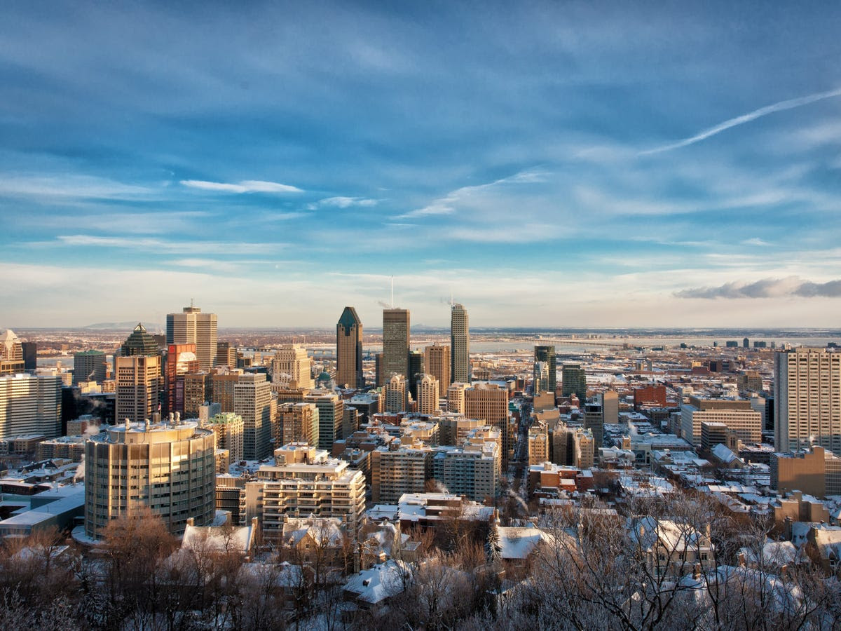 18.) MONTREAL sneaks into the top 20, making it Canada's third highest-ranking financial centre.