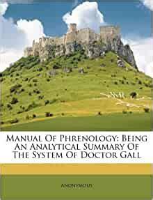 manual  phrenology   analytical summary