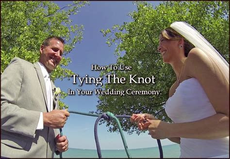 Tying the Knot in a Wedding Ceremony