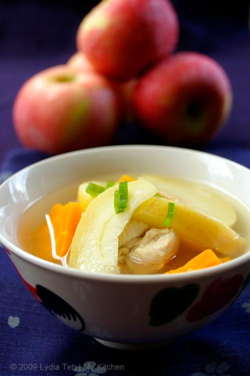 Apple Chicken Soup