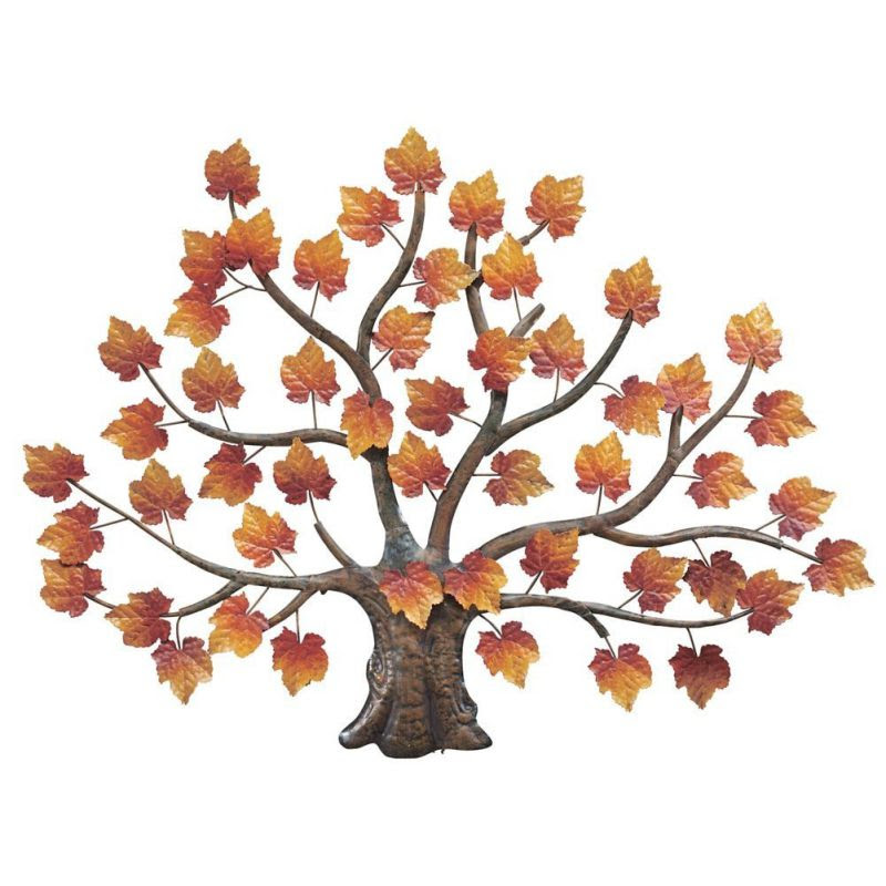 Metal Tree Wall Decor to Enrich Home Wall - HomeInDec