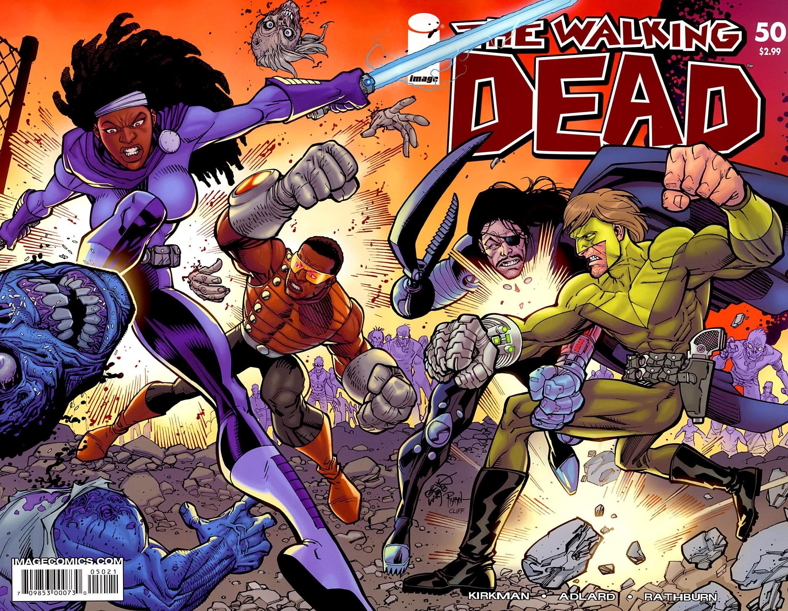 Walking Dead Comic Book Wallpaper 69 Images