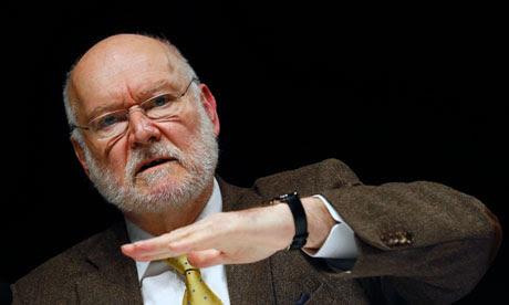 Economist Joachim Starbatty of the anti-euro Alternative für Deutschland