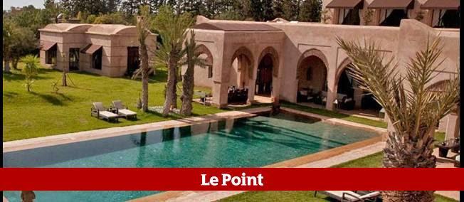Les transats de cette somptueuse villa de Marrakech devraient bientôt accueillir les Sarkozy.