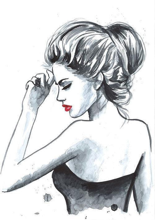 Dibujos De Chicas Hipsters Tumblr Imagui