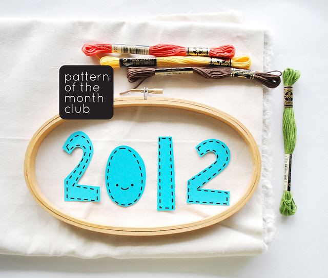 2012 Pattern of the Month Club