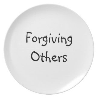Forgiving Others Dinner Plate