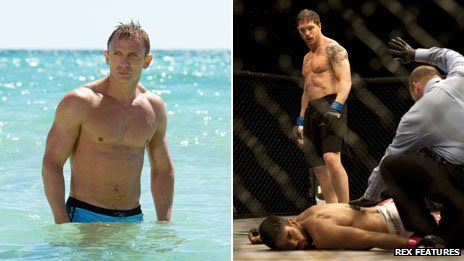 Daniel Craig and Tom Hardy