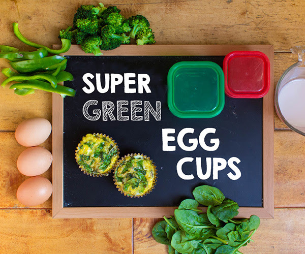 Super Green Egg Cups 21-Day Fix-Approved Recipe