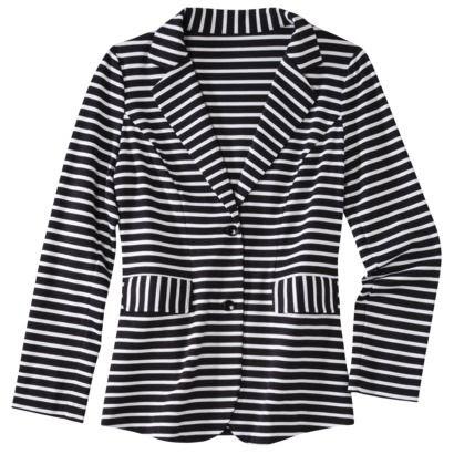 Mossimo Ponte Stripe Jacket