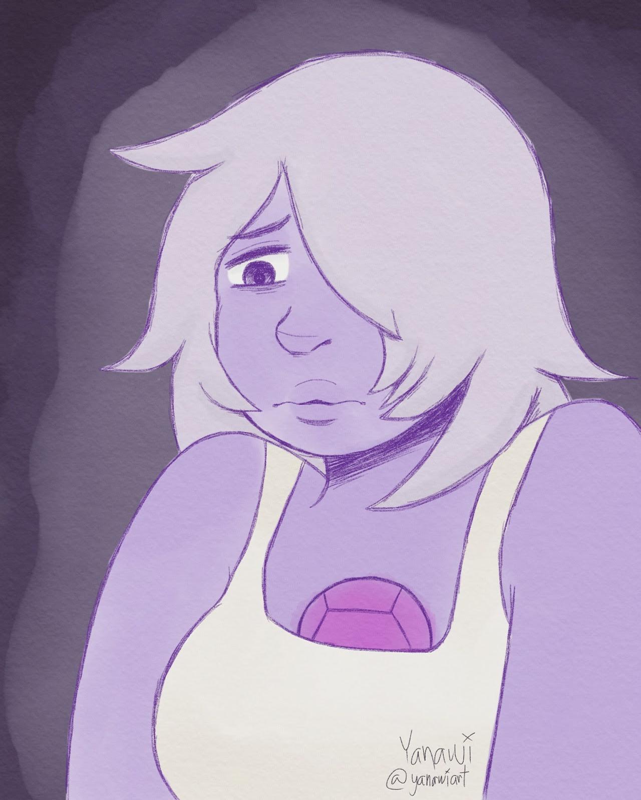 """I'm the weakest crystal gem now."" — (btw that's my Instagram account)"