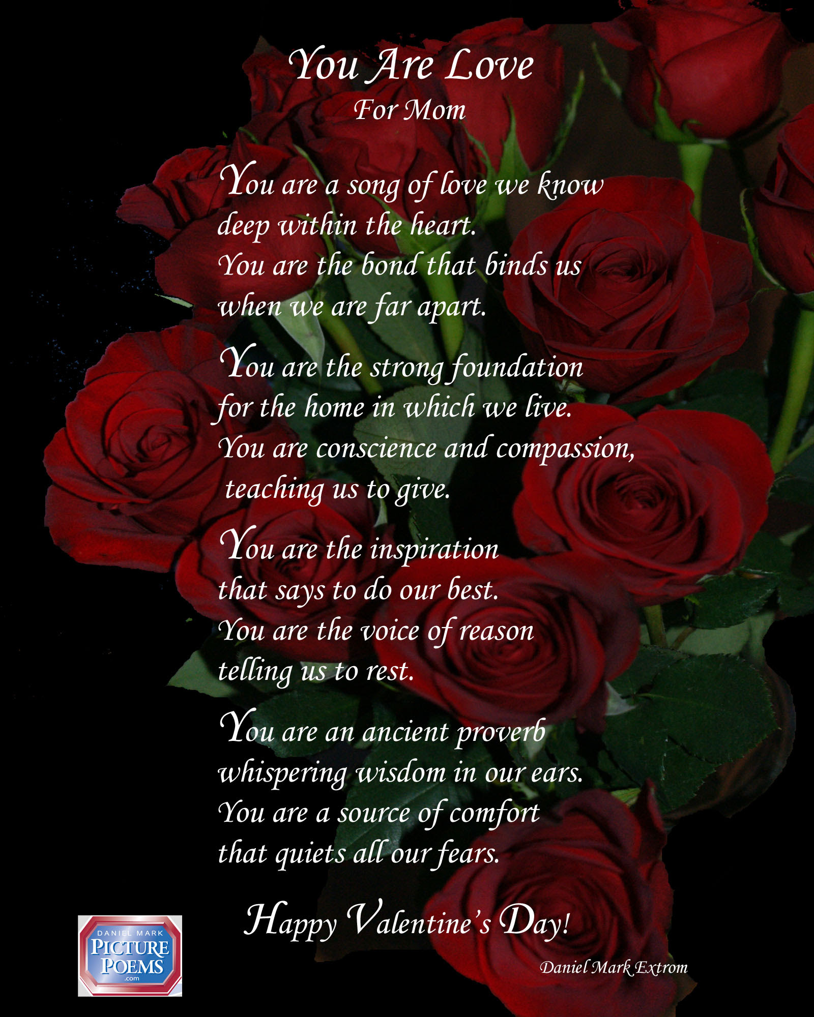 Another Valentines Day Poem For The Moms In Your Life Daniel Mark