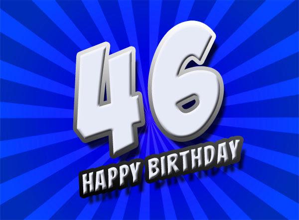 46 Geburtstag Glückwünsche Und Bilder Sprüche