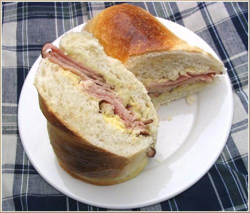 Ham and Butter Sandwich