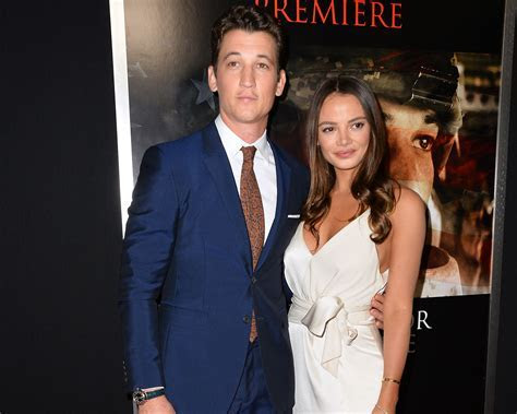 Miles Teller Received a Sweet Engagement Gift From His