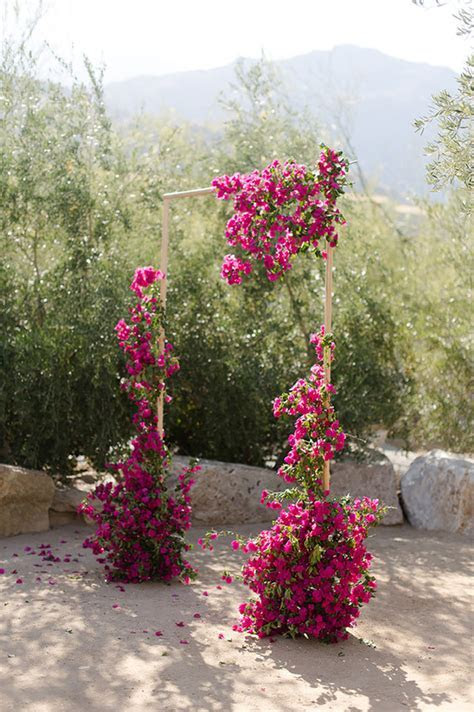 bougainvillea ceremony decor   Wedding & Party Ideas   100