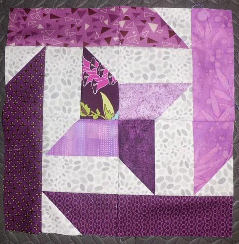 A Study in Purple Block