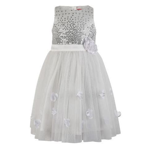 Polyester And Cotton White Dresses For Little Girls, Age