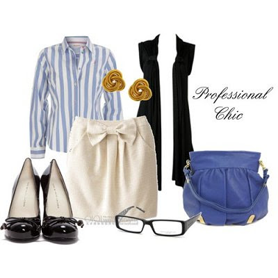 05 May - Black Sleeveless Cardi - Professional Chic