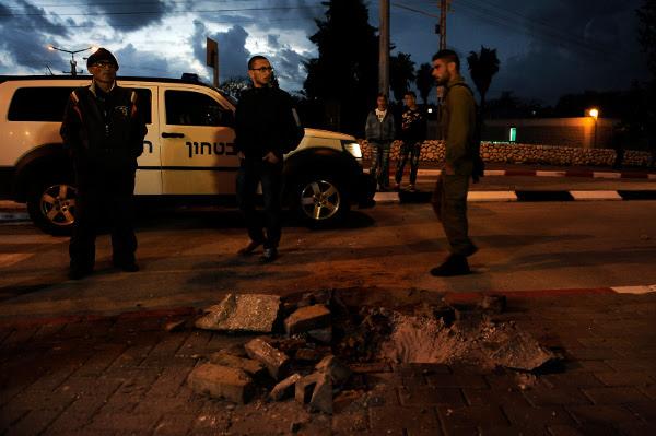 Zniszczenia po ostrzale, Sderot