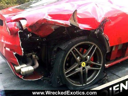 Nederlandse Ferrari F430 Doet High Speed Klapband