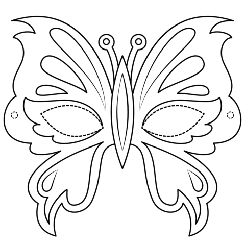 470 Butterfly Design Coloring Pages  Images