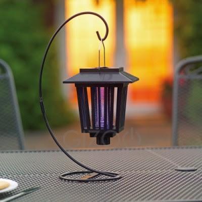 Solar Lantern Solar Powered Bug Zapper And Lantern