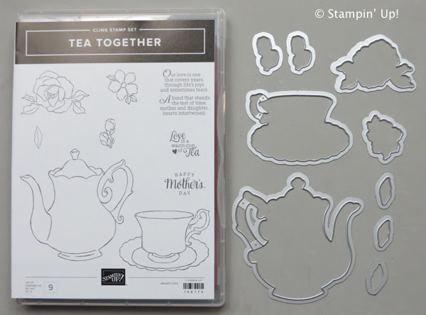 Afbeeldingsresultaat voor stampinup tea time framelits