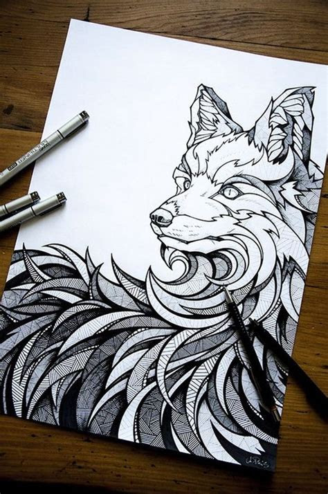 amazing hipster drawing ideas