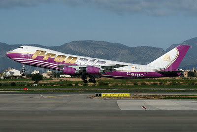 Pronair Cargo (Pronair Airlines) Boeing 747-245F EC-KMR (msn 20826) PMI (Javier Rodriguez). Image: 921060.