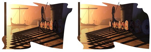 Where's Dim Sum? #200 - Norse oars (X3D)