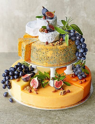 Cheese Celebration Cake (Serves 90 120)   M&S