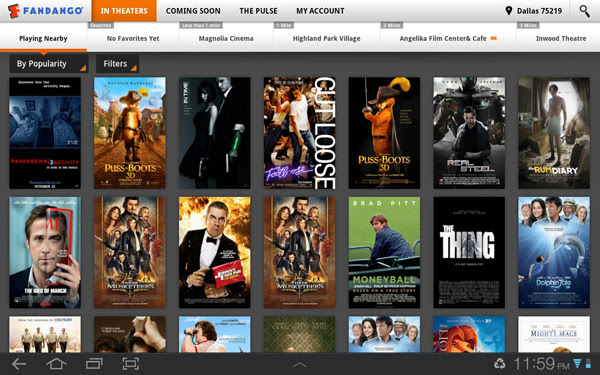 Top 5 Free Movie Apps For Android Tablets In 2012