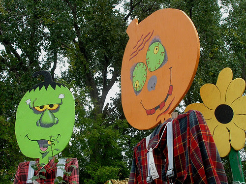Garden Patch Scarecrows