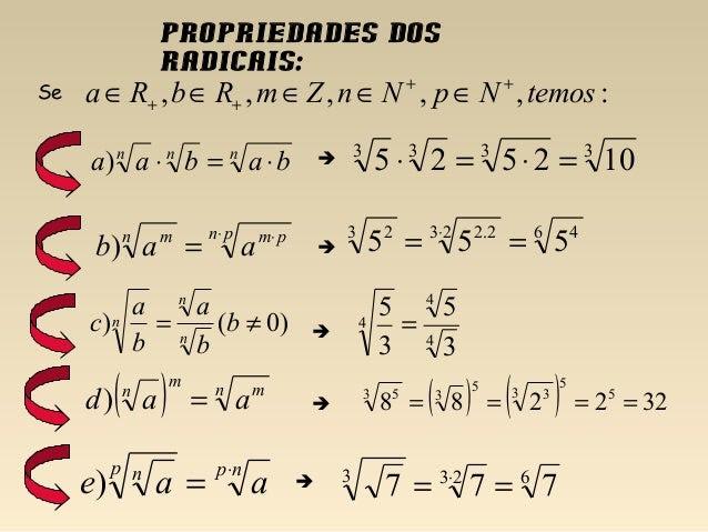 Resultado de imagem para propriedades dos radicais