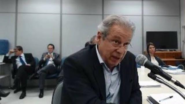 Dirceu pediu ao juiz Sérgio Moro para responder em liberdade. Juiz negou