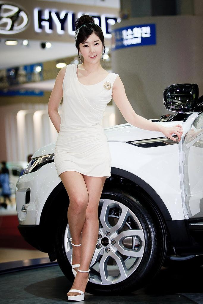 motor show model6 Hot Korean Models at Seoul Motor Show