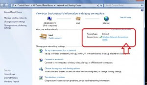 show connect WIFI Connection