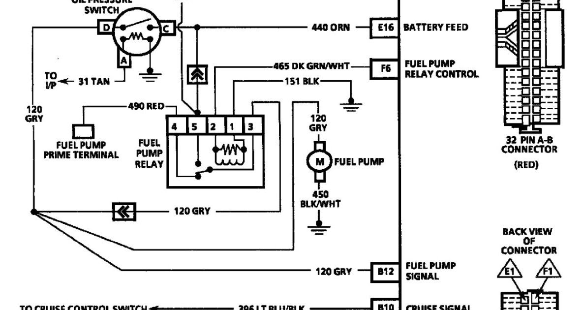 2000 Chevy S10 Fuel Line Diagram